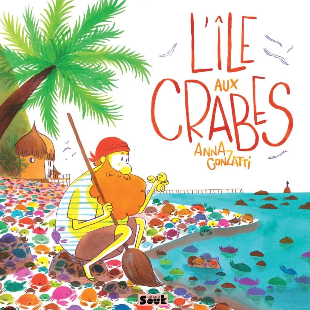 covuerture l'ile aux crabes